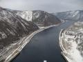 Кадр 2 с гребня Саяно-Шушенской ГЭС